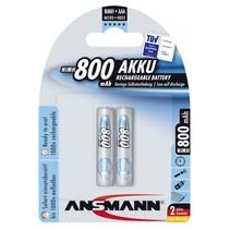 1x2  maxe Accu NiMh Micro 800 mAh duits