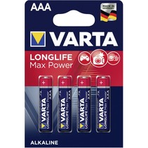 1x4  Longlife Max Power Micro AAA LR 03 DE-Version