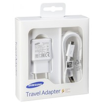 Travel charger + kabel 7AMP wit EP-TA20
