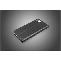Leather Wallet iPhone 7 Italian Black