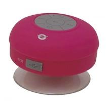Conceptronic Wireless waterproof Bluetooth Suction Speaker roze