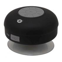 Conceptronic Wireless waterproof Bluetooth Suction Speaker zwart