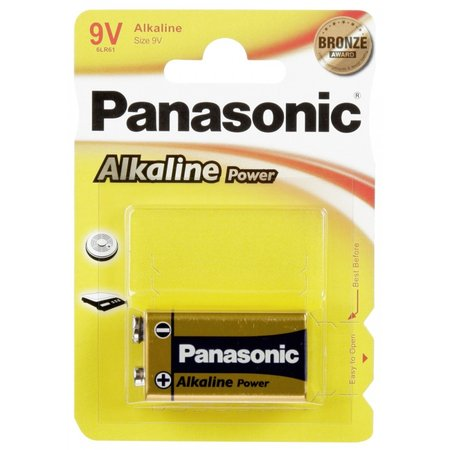 Panasonic 1  Alkaline Power 9V-Block