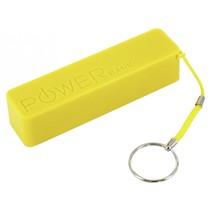 XLayer Powerbank Colour Line geel 2600 mAh
