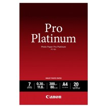 PT-101 A 4, 20 vel Photo Paper Pro Platinum   300 g
