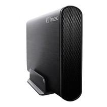FANTEC DB-AluSky U3-6G zwart 3,5  SATA, USB 3.0, aluminium
