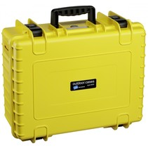 B&W Copter Case Type 6000/Y geel met GoPro Karma inlay