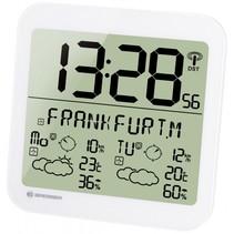 MyTime Meteotime LCD weerstation-wandklok wit