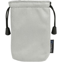 Media Cleaning pouch Microvezel beschermzakje   grijs