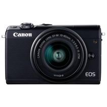 EOS M100 Kit zwart + EF-M 15-45