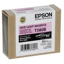 Inktpatroon   vivid light magenta T 580 80 ml       T 580B