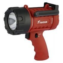 Favour LED werklamp spotlight 300m bereik, IP67 rating