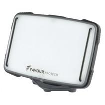 Favour LED paneel werklamp, 1350 lm, Li-Ion accu, IP67, magneeth.