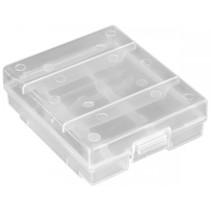 Accu-Box voor 4 Mignon-/Micro-cellen