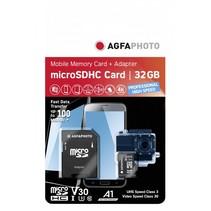 MicroSDHC UHS I   32GB Prof. High Speed U3 V30 A1
