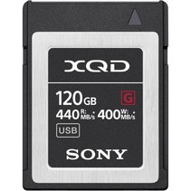 XQD Memory Card G     120GB