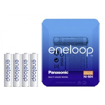1x4 Panasonic  Micro AAA 750 mAh Storage Case