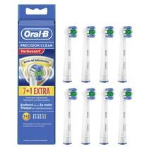 Oral-B opzetborstels Precision Clean 7+1 antibact.