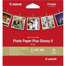 PP-201 8,9 x 8,9 cm 20 vel Photo Paper Plus Glossy II 265 g