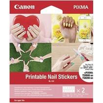 NL-101 printable nail stickers (2x 12 st.)