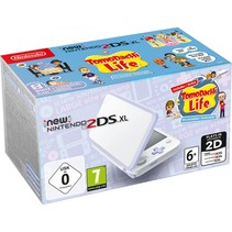 New  2DS XL wit lavendel incl. Tomodachi Life