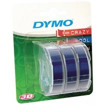 1x3  3D Labeltape 9 mm x 3 m blauw