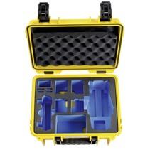 B&W Copter Case Type 3000 Y geel met DJI Mavic 2 Inlay