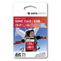 SDHC kaart         4GB High Speed Class 10 UHS I U1 V10