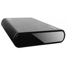 FANTEC DB-ALU31A zwart 3,5 SATA USB 3.1 Typ-C