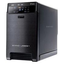 QB-X2U31R zwart 2 x 3,5 SATA Raid HDD USB 3.1