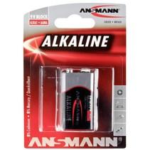 1  Alkaline 9V-Block red-line