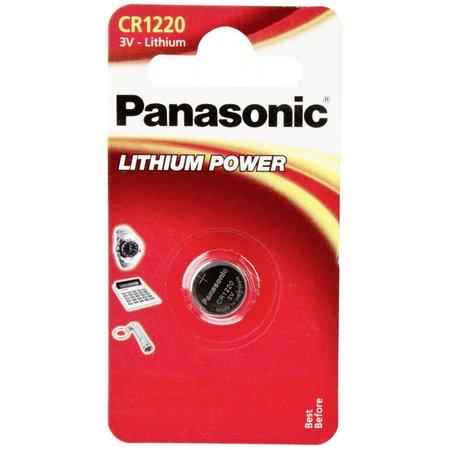 Panasonic 1  CR 1220 Lithium Power