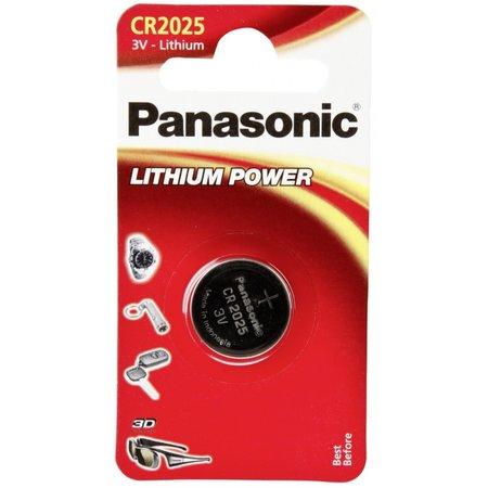 Panasonic 1  CR 2025 Lithium Power