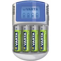 LCD Lader 12V USB Incl.4 accu's 2500 mAh Mignon AA