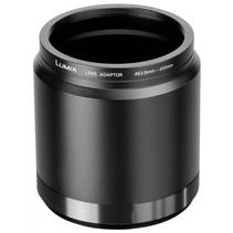DMW-LA7GU adapter 55mm objectief aan LUMIX camera