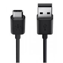USB 2.0 kabel 480MBit/s USB-C op USB-A 1m zwart