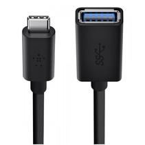 USB 3.0 adapter 5GBit/s USB-C op USB-A 14 cm zwart