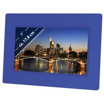 Braun DigiFrame 709 blauw 17,8cm (7 )