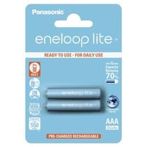 1x2 Panasonic  Lite Micro AAA 550 mAh