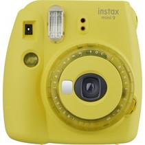 instax mini 9 clear yellow