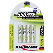 1x4  Accu NiMH Micro AAA 550 mAh