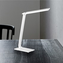 WOFI LED tafellamp TUBAC wit 7W vast ingebouwd 520lm
