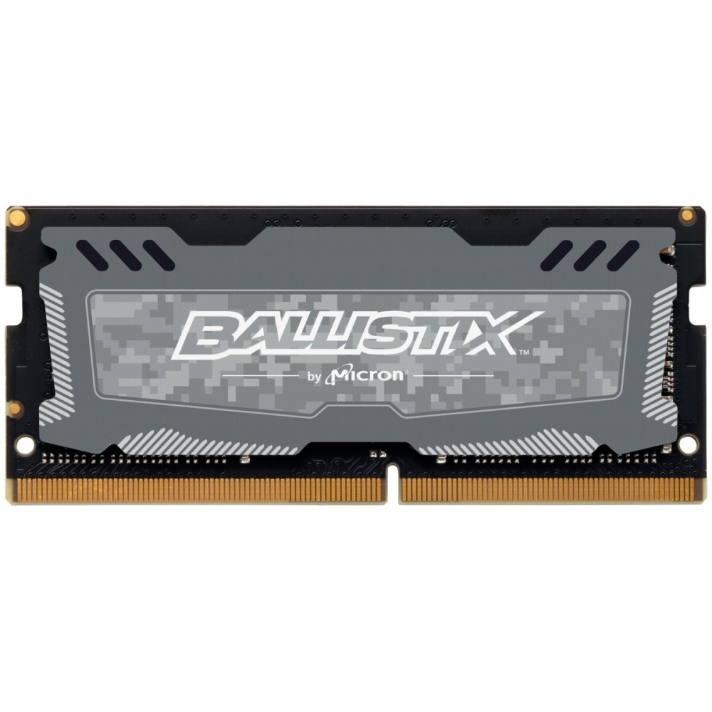 Afbeelding van Ballistix Sport LT 16GB DDR4 2400 MT/s SODIMM 260pin grijs