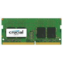 16GB DDR4 2400 MT/s SODIMM 260pin DR x8 unbuffered
