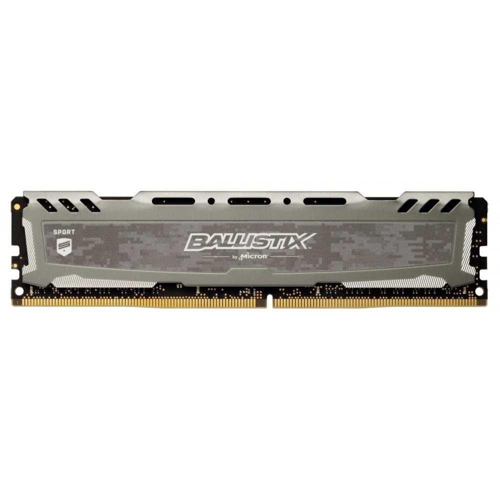 Afbeelding van Ballistix Sport LT 8GB DDR4 2666 MT/s DIMM 288pin grijs SR