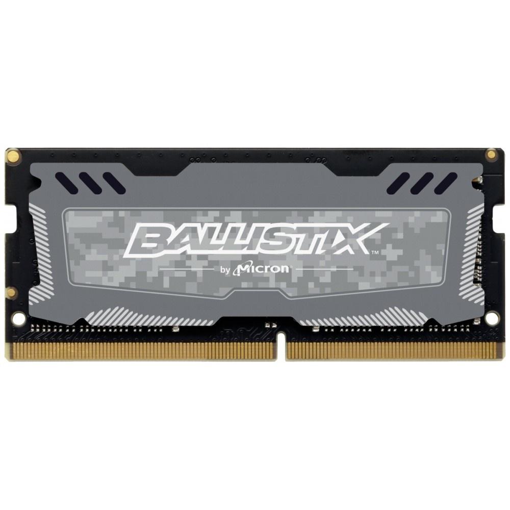Afbeelding van Ballistix Sport LT 4GB DDR4 2666 MT/s SODIMM 260pin grijs