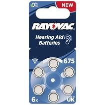 Acoustic Special 675 6 st. hoorapparaat batterijen
