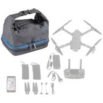 Drone Bag M 7555 grijs voor DJI Mavic Pro