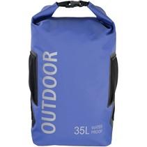 outdoortas 35l blauw