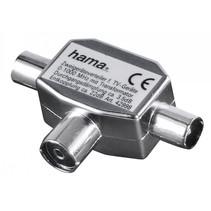 Antenne-verdeler Coax- kopp.-2 Coax-stekker      42998